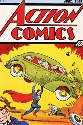 Action Comics #1-1938 Property of DC Comics