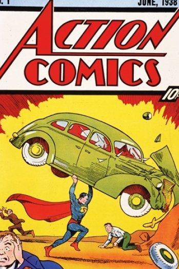 Action Comics #1-1938 Property of DC Comics